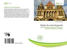 Couverture de Règle de saint Augustin