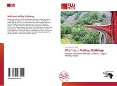 Bookcover of Malheur Valley Railway