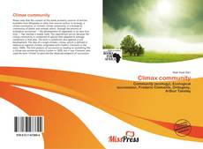 Bookcover of Climax community