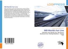 Capa do livro de IND World's Fair Line