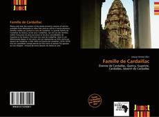 Couverture de Famille de Cardaillac