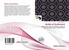 Capa do livro de Battle of Guillemont
