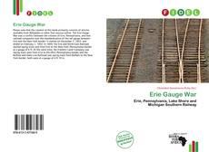 Bookcover of Erie Gauge War