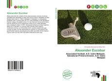Capa do livro de Alexander Escobar