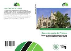 Buchcover von Sacre des rois de France