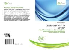 Capa do livro de Electoral District of Goyder