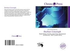 Portada del libro de Durban Cenotaph
