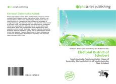 Bookcover of Electoral District of Schubert