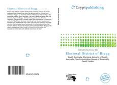 Capa do livro de Electoral District of Bragg