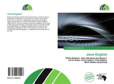 Bookcover of Jane English