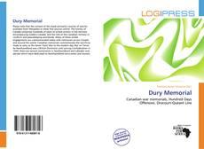 Buchcover von Dury Memorial