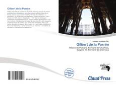 Copertina di Gilbert de la Porrée