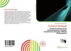 Bookcover of Friedrich Schlegel