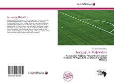 Jevgeņijs Miļevskis kitap kapağı