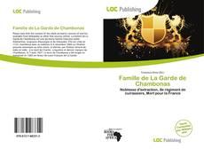 Famille de La Garde de Chambonas的封面