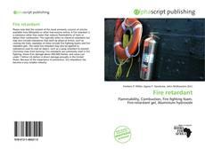 Bookcover of Fire retardant