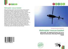 Bookcover of Helicopter rescue basket