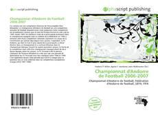 Bookcover of Championnat d'Andorre de Football 2006-2007