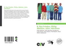 Обложка B. Roy Frieden, Philip, Abelson, John, Abraham