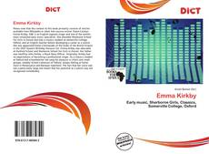 Bookcover of Emma Kirkby
