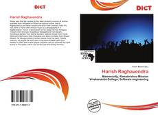 Bookcover of Harish Raghavendra