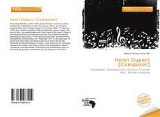 Portada del libro de Henri Duparc (Composer)