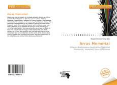 Buchcover von Arras Memorial