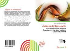 Portada del libro de Jacques de Bernonville