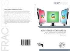 John Forbes-Robertson (Actor)的封面