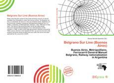 Bookcover of Belgrano Sur Line (Buenos Aires)