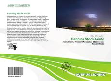 Bookcover of Canning Stock Route