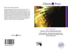 Bookcover of Julio Gea-Banacloche