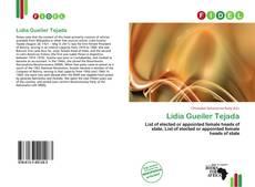 Lidia Gueiler Tejada kitap kapağı
