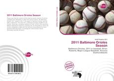 Bookcover of 2011 Baltimore Orioles Season