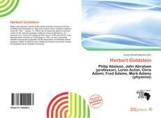 Обложка Herbert Goldstein