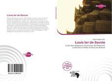Обложка Louis Ier de Savoie