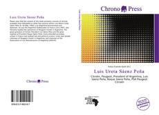 Portada del libro de Luis Ureta Sáenz Peña