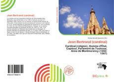 Borítókép a  Jean Bertrand (cardinal) - hoz