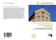 Famille Aycelin de Montaigut的封面