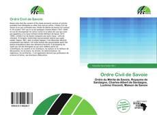 Bookcover of Ordre Civil de Savoie