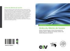 Ordre du Mérite de Savoie kitap kapağı