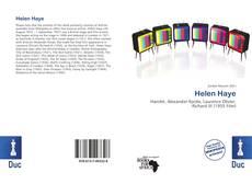 Portada del libro de Helen Haye