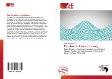 Bookcover of Duché de Luxembourg