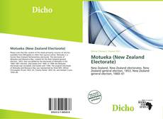 Buchcover von Motueka (New Zealand Electorate)