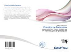 Borítókép a  Équation de Boltzmann - hoz
