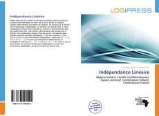 Capa do livro de Indépendance Linéaire