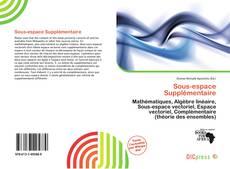 Bookcover of Sous-espace Supplémentaire