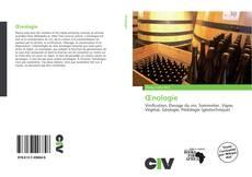 Buchcover von Œnologie