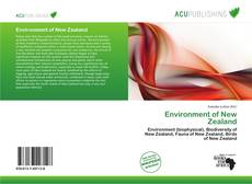 Bookcover of Environment of New Zealand