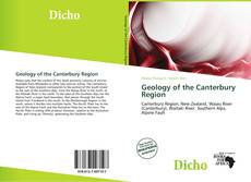 Bookcover of Geology of the Canterbury Region